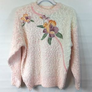 Vintage soft spring sweater